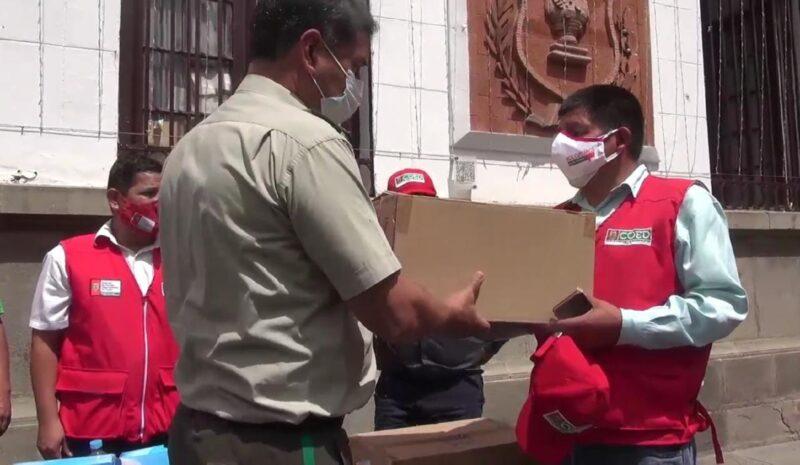 COED entrega materiales bioseguridad y pruebas rápidas para masificar controles preventivos en Tarija
