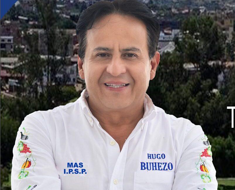 Hugo Buhezo señala que sigue siendo candidato a la Alcaldía de Tarija por el MAS
