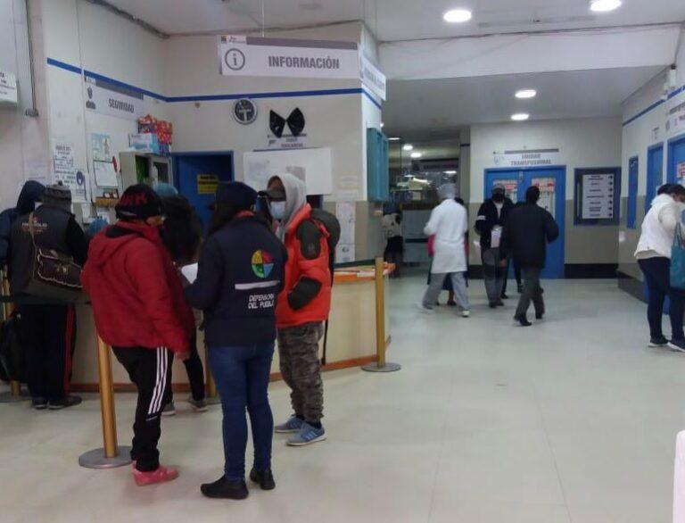 Defensoría asegura que el 80% de los centros de salud del país no acata el paro médico