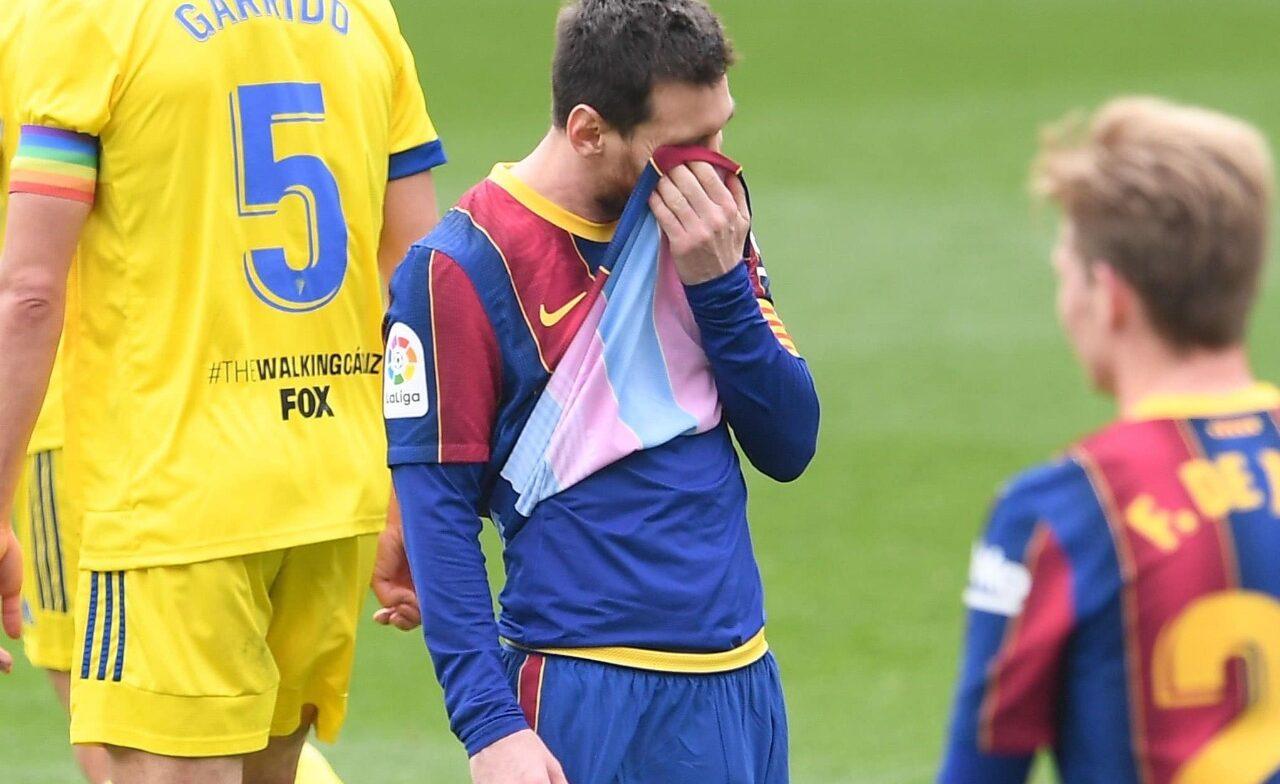 Barcelona desperdicia la oportunidad de acercarse al Atlético, tras empatar 1 a 1 contra el Cádiz
