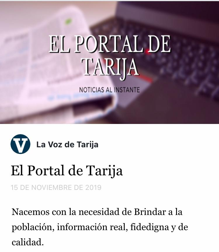 La Voz de Tarija es pirateada en Facebook