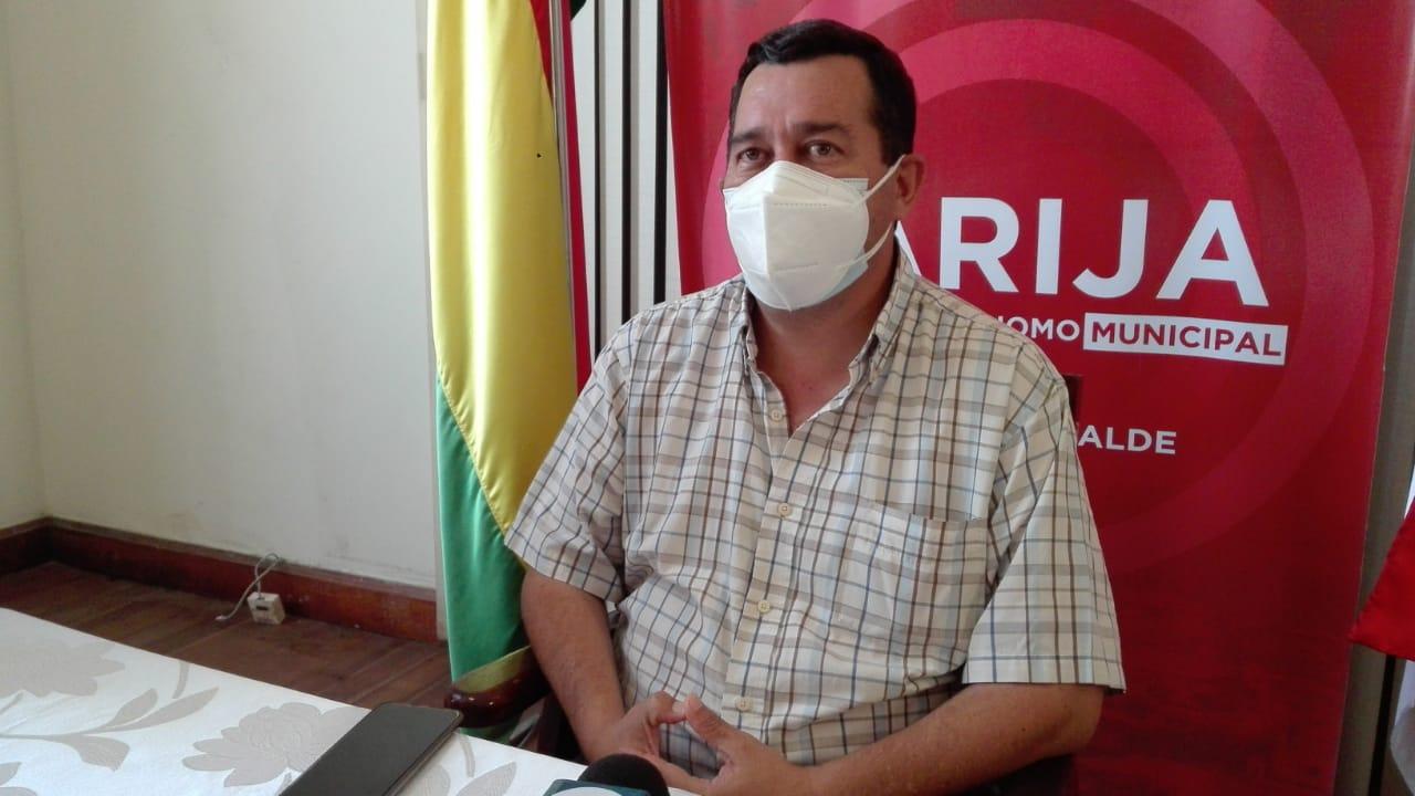 """Lema: """"Con bloqueo o sin bloqueo el lunes da inicio la cancelación del bono en Tarija"""""""