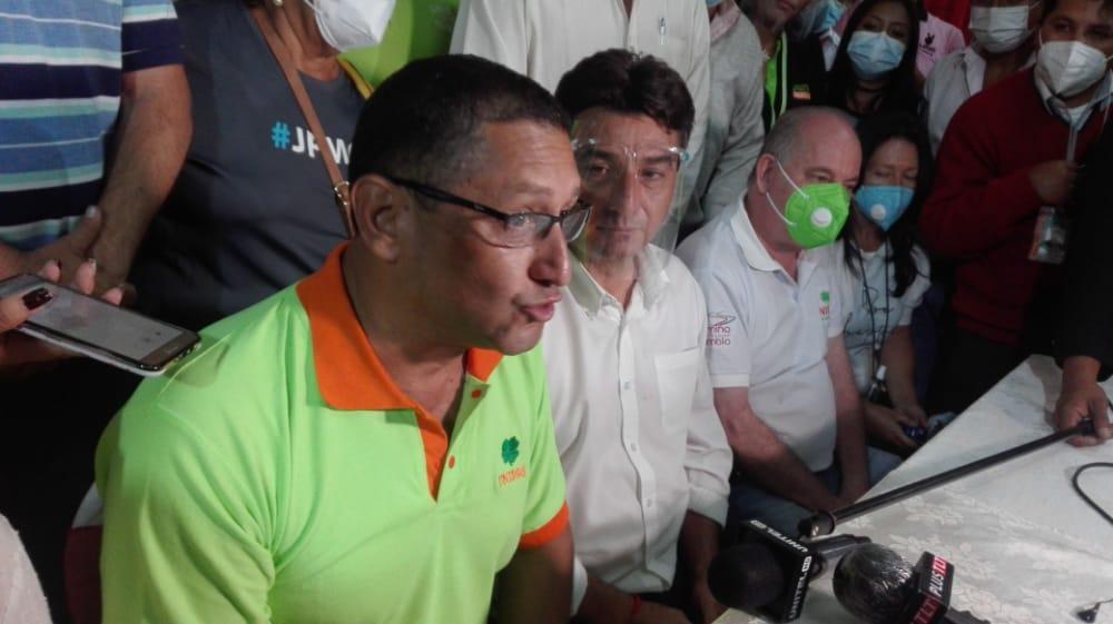 Gobernación de Tarija: Oscar Montes recalca que logrará la victoria en segunda vuelta