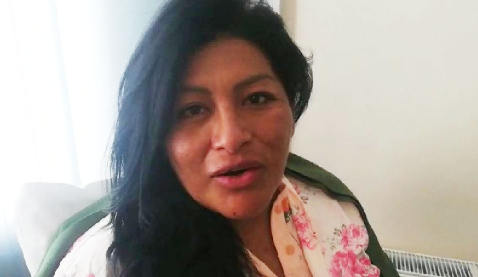 Nace la primera hija de la alcaldesa Soledad Chapetón