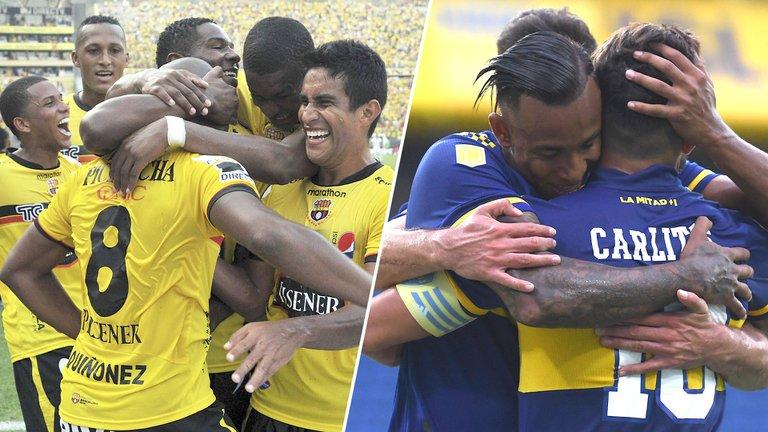 Boca buscará extender su buen momento en su choque ante Barcelona en Ecuador