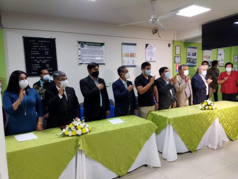 Magisterio Rural de Tarija presenta su nuevo Directorio para la gestión 2021-2022