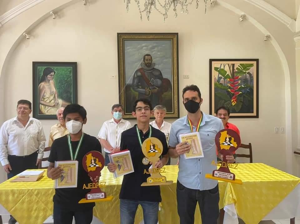 Monasterio gana el torneo IRT presencial de ajedrez en Santa Cruz