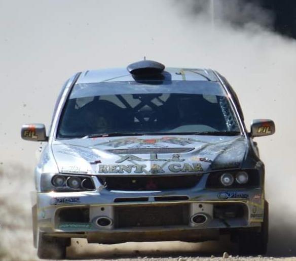 Chuquisaqueño Josué Careaga triunfa en el Rally Andaluz