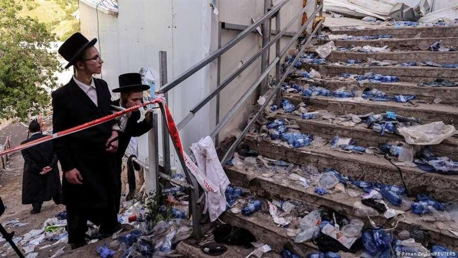 Israel despide a las primeras víctimas de la fatídica estampida que dejó casi medio centenar de muertos