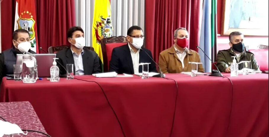 COED determina encapsulamiento este domingo en el municipio de Tarija