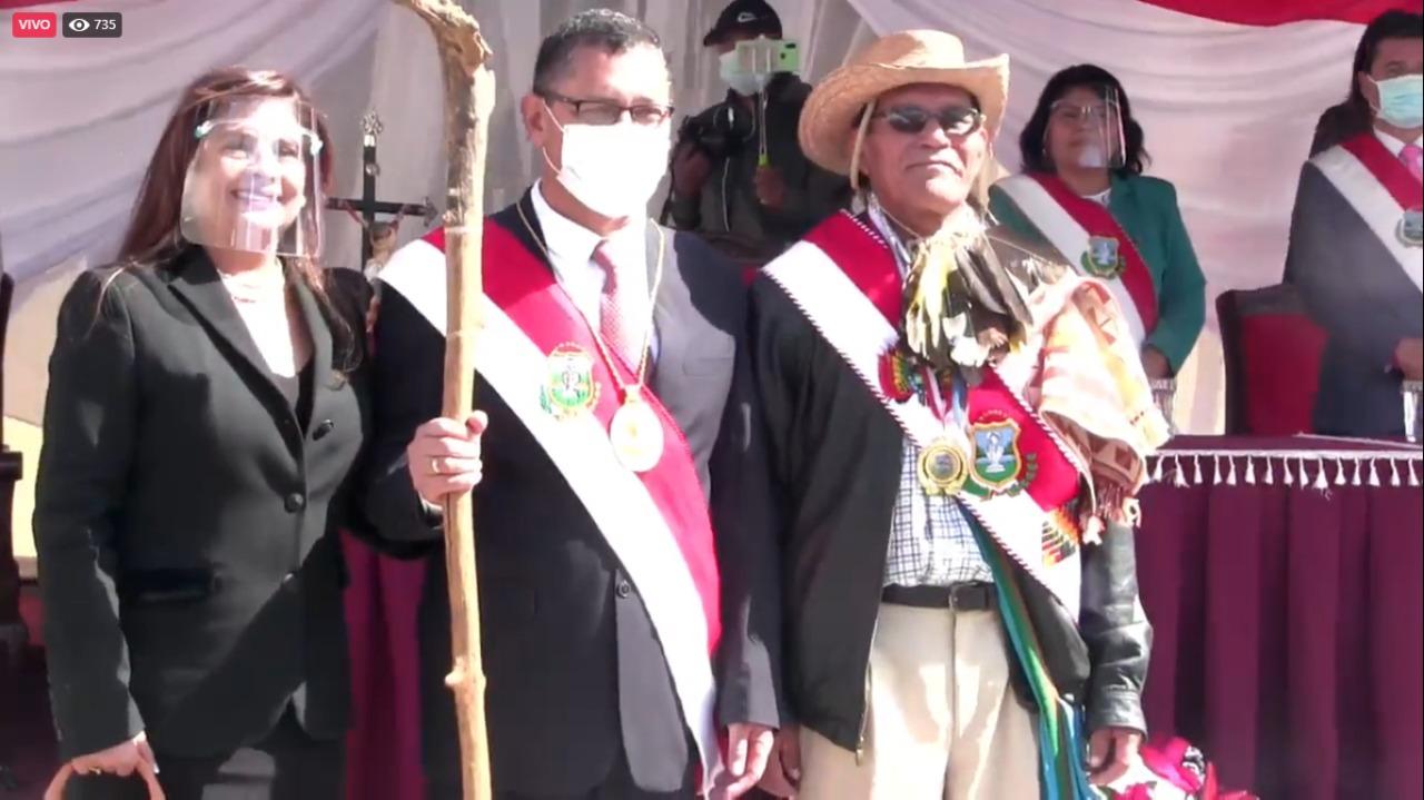 Posesionan a Oscar Montes como nuevo gobernador de Tarija