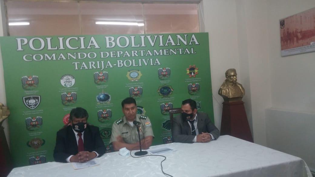Policía de Tarija desmiente que no hayan apoyado en el caso Balvina Flores