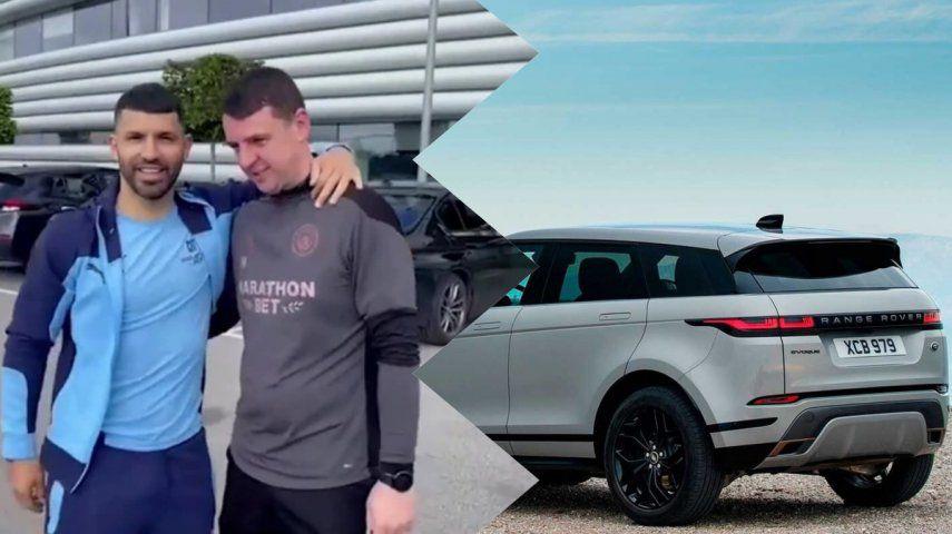 El empleado de Manchester City que ganó el sorteo que realizó el Kun Agüero puso a la venta la lujosa camioneta
