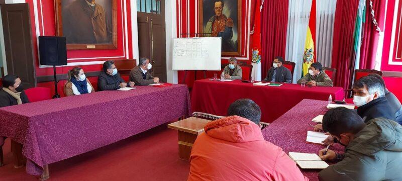 Gobernación y Alcaldía de Entre Ríos buscan reiniciar obras de unidades educativas