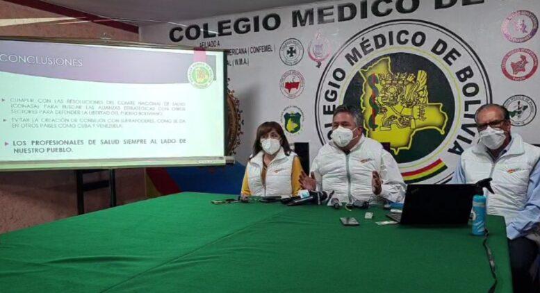 Médicos insisten en el diálogo con el Gobierno por Ley de Emergencia Sanitaria