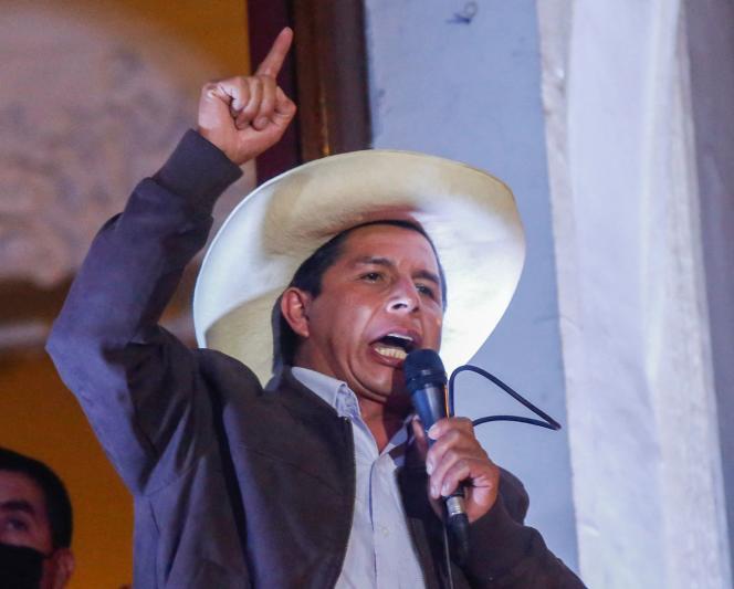 """Castillo aseguró que planifica un gabinete con representación de """"todas las tiendas políticas"""" para superar las divisiones"""