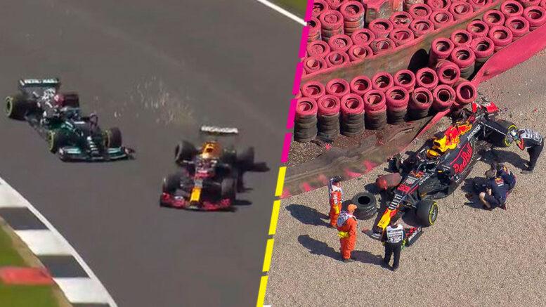 Fórmula 1: la millonaria suma que costará arreglar el auto de Verstappen tras el toque de Hamilton en Silverstone