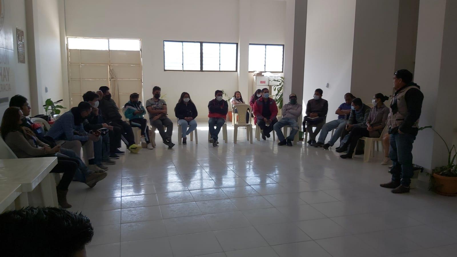 Realizan un curso de Redacción Periodística a en favor de los Trabajadores de la Prensa de Tarija